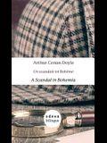 A Scandal in Bohemia / Un Scandale En Bohème: English-French Side-By-Side