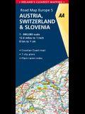 Road Map Austria, Switzerland & Slovenia
