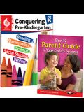 Conquering Pre-K Together: 2-Book Set