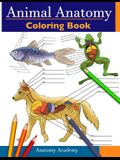 Animal Anatomy Coloring Book: Incredibly Detailed Self-Test Veterinary Anatomy Color workbook Perfect Gift for Vet Students & Animal Lovers