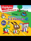 Hidden Pictures 1-2-3 Puzzles