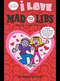 P.S. I Love Mad Libs Ultimate Box Set: World's Greatest Word Game [With Red Glitter Pen and 3 Fill-In-The-Blank Postcards]