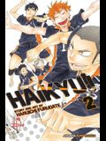 Haikyu!!, Vol. 2, Volume 2: The View from the Top