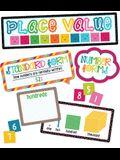 School Pop Place Value Mini Bulletin Board Set
