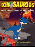 DINOSAURIOS Libro para colorear para niños: El regalo perfecto para niños, edades 2-4 y edades 4-8