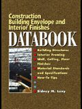 Building Envelope and Interior Finishes Databook