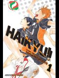 Haikyu!!, Vol. 1, 1