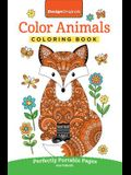 Color Animals Coloring Book: Perfectly Portable Pages