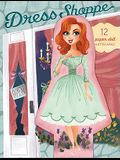 Dress Shoppe: 12 Paper Doll Notecards [With Envelope]