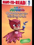 Owlette and the Giving Owl: Ready-To-Read Level 1