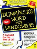 Dummies 101: Word for Windows 95