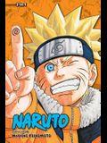 Naruto 3-In-1, V09: Volumes 25, 26, 27