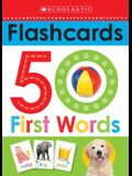 50 First Words Flashcards: Scholastic Early Learners (Flashcards)