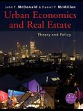 Urban Economics and Real Estate: Theory and Policy