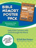 Bible Memory Poster Pack for Elementary Kids