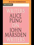 Alice Pung on John Marsden: Writers on Writers