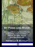 By Pond and River: Animals Who Live Near Water Explained for Children - Frogs, Otters, Voles and Dragonflies