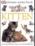 Ultimate Sticker Book: Kitten: More Than 60 Reusable Full-Color Stickers [With Stickers]
