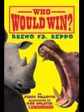Rhino vs. Hippo (Who Would Win?)