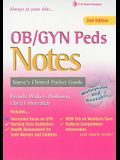 OB/GYN Peds Notes