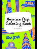 American Flags of the World Coloring Book for Children (6x9 Coloring Book / Activity Book)