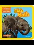 Ella's Bath: A Lift-The-Flap Story about Elephants