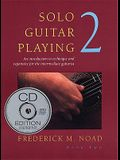 Solo Guitar Playing: Bk 2 (with CD)