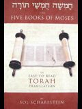 The Five Books Of Moses: An Easy To Read Torah Translation