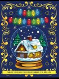 Mindfulness Colouring Books for Adults (Merry Christmas): An adult coloring (colouring) book with 30 unique Christmas coloring pages: A great gift for