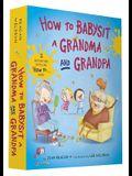 How to Babysit a Grandma and Grandpa Board Book Boxed Set