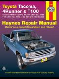 Haynes Toyota Tacoma 4 Runner & T100 Automotive Repair Manual