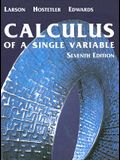 Calculus of A Single Variable, Seventh Edition