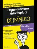 Organisiert Am Arbeitsplatz F?r Dummies Das Pocketbuch