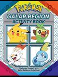 Pokémon Official Galar Region Activity Book