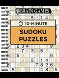 Brain Games 10 Minute Sudoku Puzzles