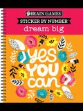 Sticker by Number Dream Big