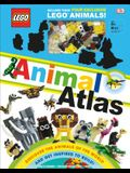 Lego Animal Atlas: Discover the Animals of the World and Get Inspired to Build! [With Toy]