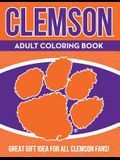 Clemson Adult Coloring Book: A Colorful Way to Cheer on Your Team!