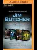 Jim Butcher: Dresden Files, Books 1-4: Storm Front, Fool Moon, Grave Peril, Summer Knight