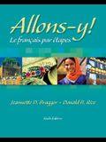 Allons-Y!: Le Français Par Etapes (with Audio CD) [With CD (Audio)]