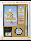 Primer Libro de la Misa (My First Eucharist) Deluxe Set [With Taper Candle, Rosary, Communion Supplies]