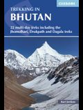 Trekking in Bhutan: 22 Multi-Day Treks Including the Jhomolhari, Drukpath and Dagala Treks