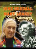 Jane Goodall and Mary Leakey