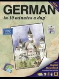German in 10 Minutes a Day: Language Course for Beginning and Advanced Study. Includes Workbook, Flash Cards, Sticky Labels, Menu Guide, Software,