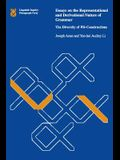 Essays on the Representational and Derivational Nature of Grammar: The Diversity of Wh-Constructions