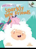 Sparkly New Friends: An Acorn Book (Unicorn and Yeti #1) (Library Edition), 1