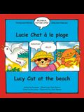Lucy Cat at the Beach/Lucie Chat a la Plage