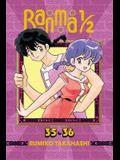 Ranma 1/2 (2-In-1 Edition), Vol. 18: Includes Volumes 35 & 36
