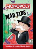Monopoly Mad Libs