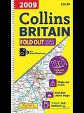 2009 Collins Fold Out Atlas Britain